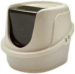Standard Cat Litter Box Pan High Enclosed Hooded Covered Kit