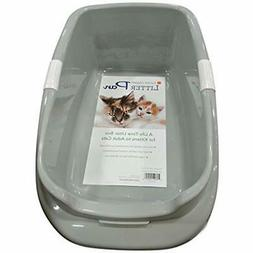 standard litter boxes pan pet supplies