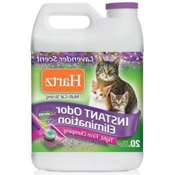 20 lb Strong Multi-Cat Clumping Cat Litter, Lavender Scent,