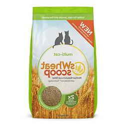 Swheat Scoop Multi Cat Natural Wheat Cat Litter 40-lb bag