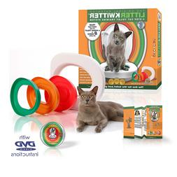 Litter Kwitter Toilet Training System, White