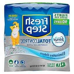 Fresh Step Total Control Clumping Cat Litter with Febreze