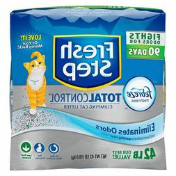 Fresh Step Total Control with Febreze Clumping Cat Litter Fa