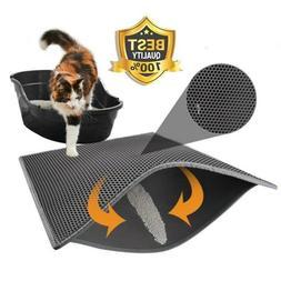 TRAP LITTER MAT - LITTER LOCKER Foldable CAT Waterproof Doub