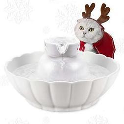 IPETTIE Tritone Ceramic Pet Drinking Fountain丨Ultra Quiet,