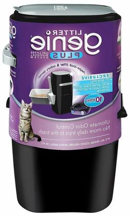 Litter Genie, Ultimate Cat Litter Disposal System, Locks Awa