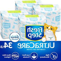 Fresh Step UltraCare with Febreze Freshness, Clumping Cat Li