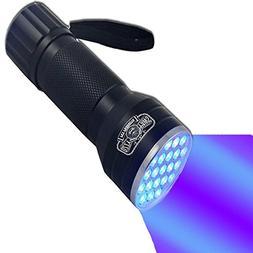 Ozzy Gear UV Flashlight-Brightest Black Light 21-LED Pet Uri