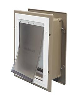 PetSafe Wall Entry Aluminum PetDoor Medium - Up to 40 lb - P