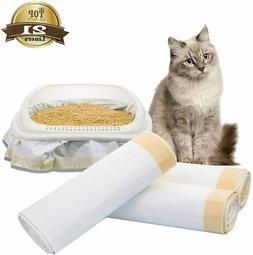 WanJiaXinHui Cat Litter Box Liners,21 Count Extra Jumbo Cat