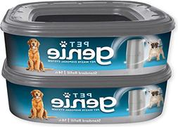 Pet Genie Pet Waste Disposal System, 2 pack Refill