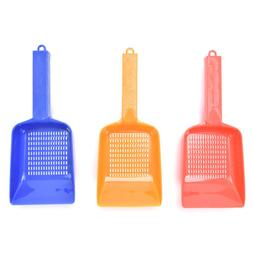 Waste Scooper Shovel Kitten Sand Plastic Litter Scoop Clean