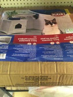 Trixie Wooden Pet House Litter Box 19x20x20 White Brand New