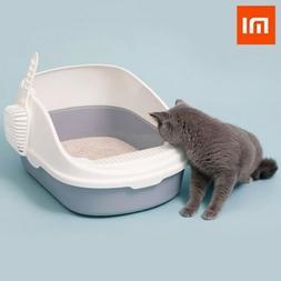 Xiaomi Shuoshuochong Durable Semi-Open Cat Litter Box Pet Ki