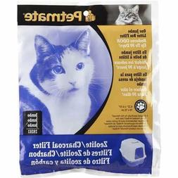 Petmate Zeolite Charcoal Filters for Hooded Cat Litter Boxes